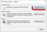 Změna účtu - nový server<br>Outlook